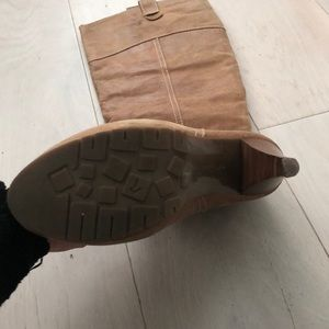 Report Shoes - Tall suede boots